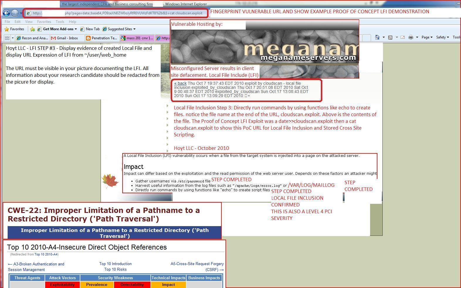 XSS Cx Blog: Local File Inclusion, LFI, Exploit, PoC, Proof of