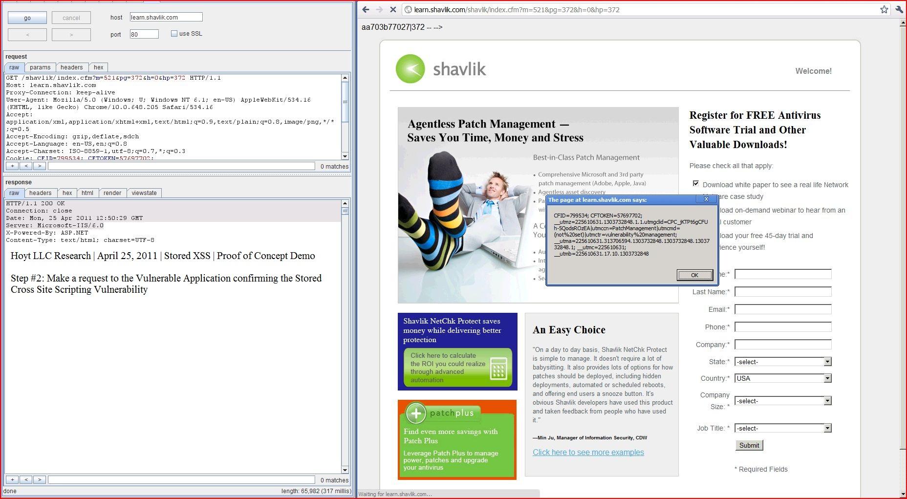 Website Security: XSS Cross Site Scripting Exploit ...