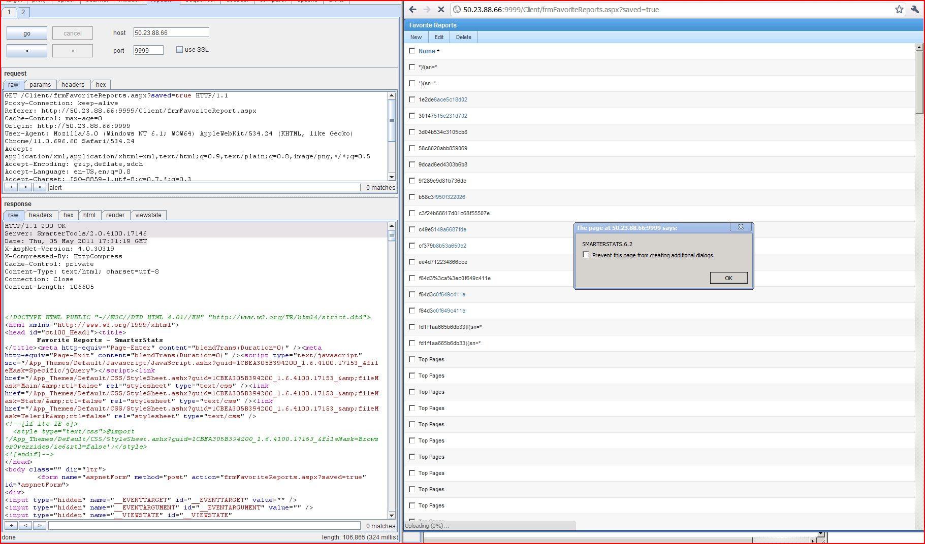 XSS in SmarterStats 5.2.4100, XSS, DORK, GHDB, Cross Site Scripting, CWE-79, CAPEC-86